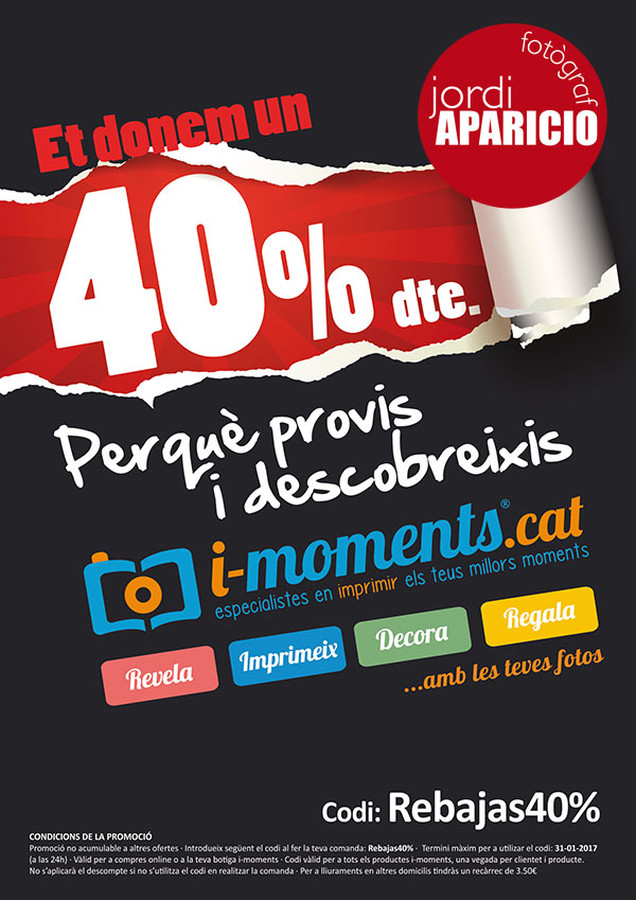 Rebaixes 40% i-moments