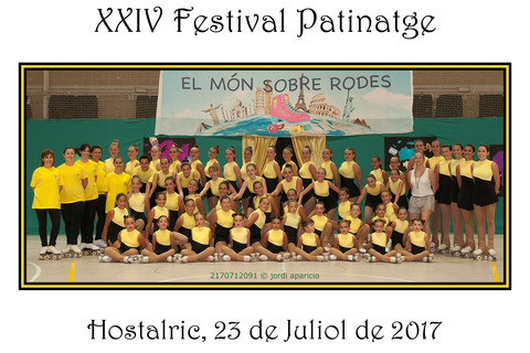 24è Festival de Patinatge Artístic Club Patí Hostalric