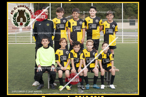 AT.C. Hostalric Benjamí B 2018/2019