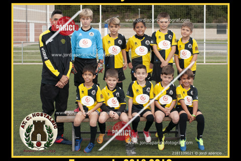 AT.C. Hostalric Prebenjamí B 2018/2019