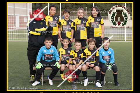 AT.C. Hostalric Benjamí A 2018/2019
