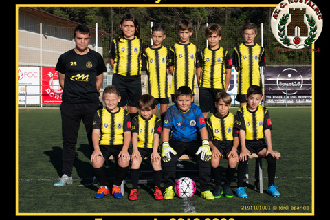 AT.C. Hostalric Benjamí B 2019/2020