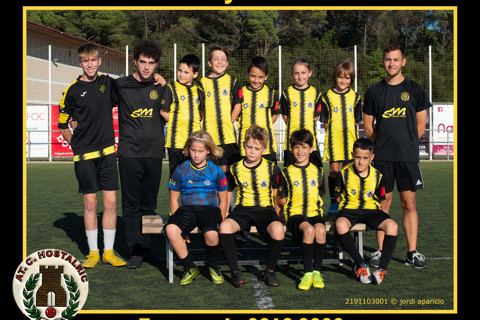AT.C. Hostalric Benjamí C 2019/2020