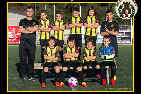 AT.C. Hostalric Prebenjamí B 2019/2020