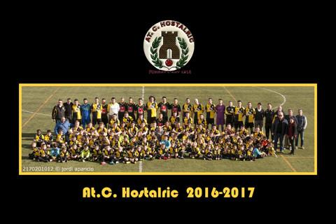 Fotos equips AT.C. Hostalric 2016/2017