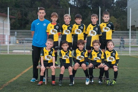 AT.C. Hostalric Prebenjamí B Temporada 2016-2017