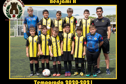 AT.C. Hostalric Benjamí  A Temporada 2020-2021