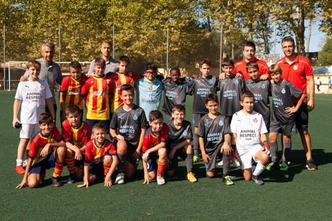 Partit CF Tordera i CF Girona Aleví A 19_9_21